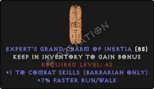 Barbarian Combat Skills w/ 7% FRW GC