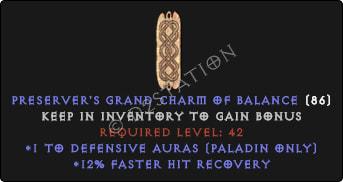 Paladin Defensive Auras w/ 12% FHR GC