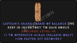 Paladin Offensive Auras w/ 12% FHR GC