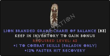 Paladin Combat Skills w/ 12% FHR GC