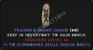 Druid Summoning Skills [Plain]