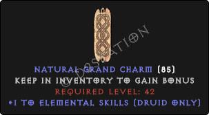 Druid Elemental Skills [Plain]