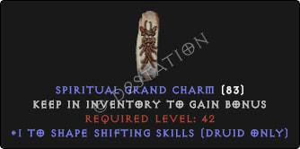 Druid Shape Shifting Skills [Plain]