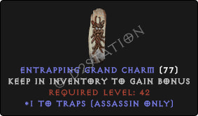 Assassin Traps Skills GC [Plain]