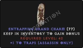 Assassin Traps Skills GC [Plain]