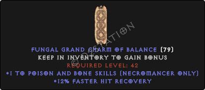 Necromancer Poison And Bone Skills w/ 12% FHR GC