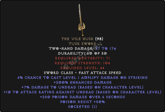 The Vile Husk