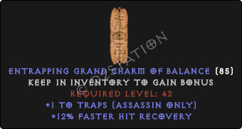 Assassin Traps Skills w/ 12% FHR GC