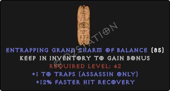 Assassin Traps Skills w/ 12% FHR GC