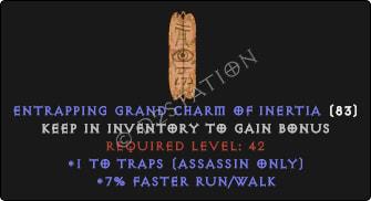 Assassin Traps Skills w/ 7% FRW GC
