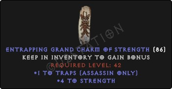 Assassin Traps Skills w/ 3-5 Str GC