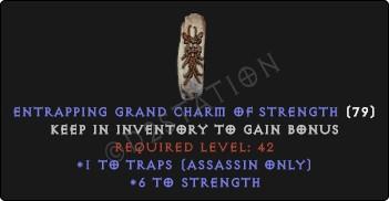Assassin Traps Skills w/ 6 Str GC