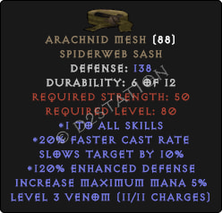 Arachnid-Mesh-120-Perfect
