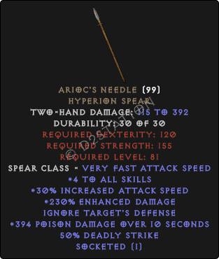 Ariocs-Needle