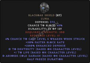 Blackoak-Shield