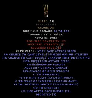 Chaos-Feral-Claws