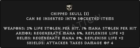 Chipped-Skull