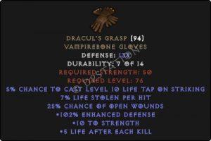Draculs-Grasp