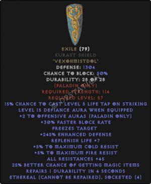 Exile-Kurast-Shield