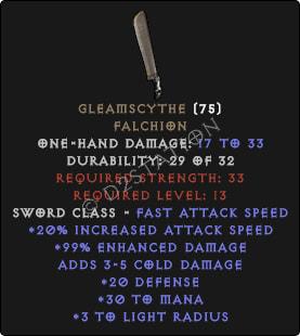 Gleamscythe