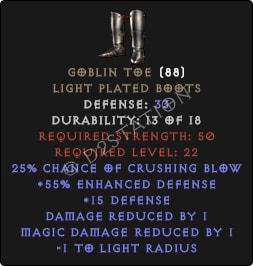 Goblin-Toe