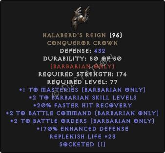Halaberds-Reign