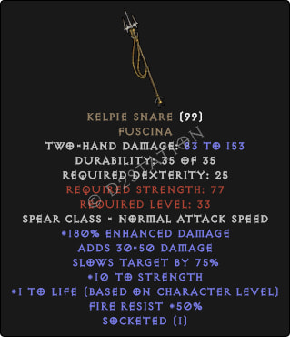 Kelpie-Snare