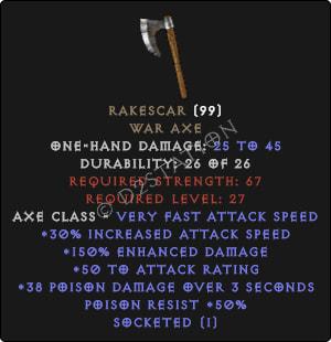 Rakescar