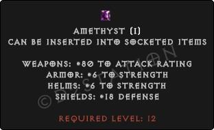 Regular-Amethyst