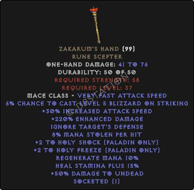 Zakarums-Hand