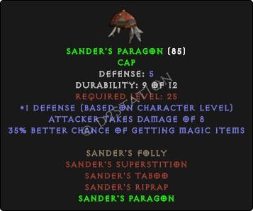 sanders-paragon